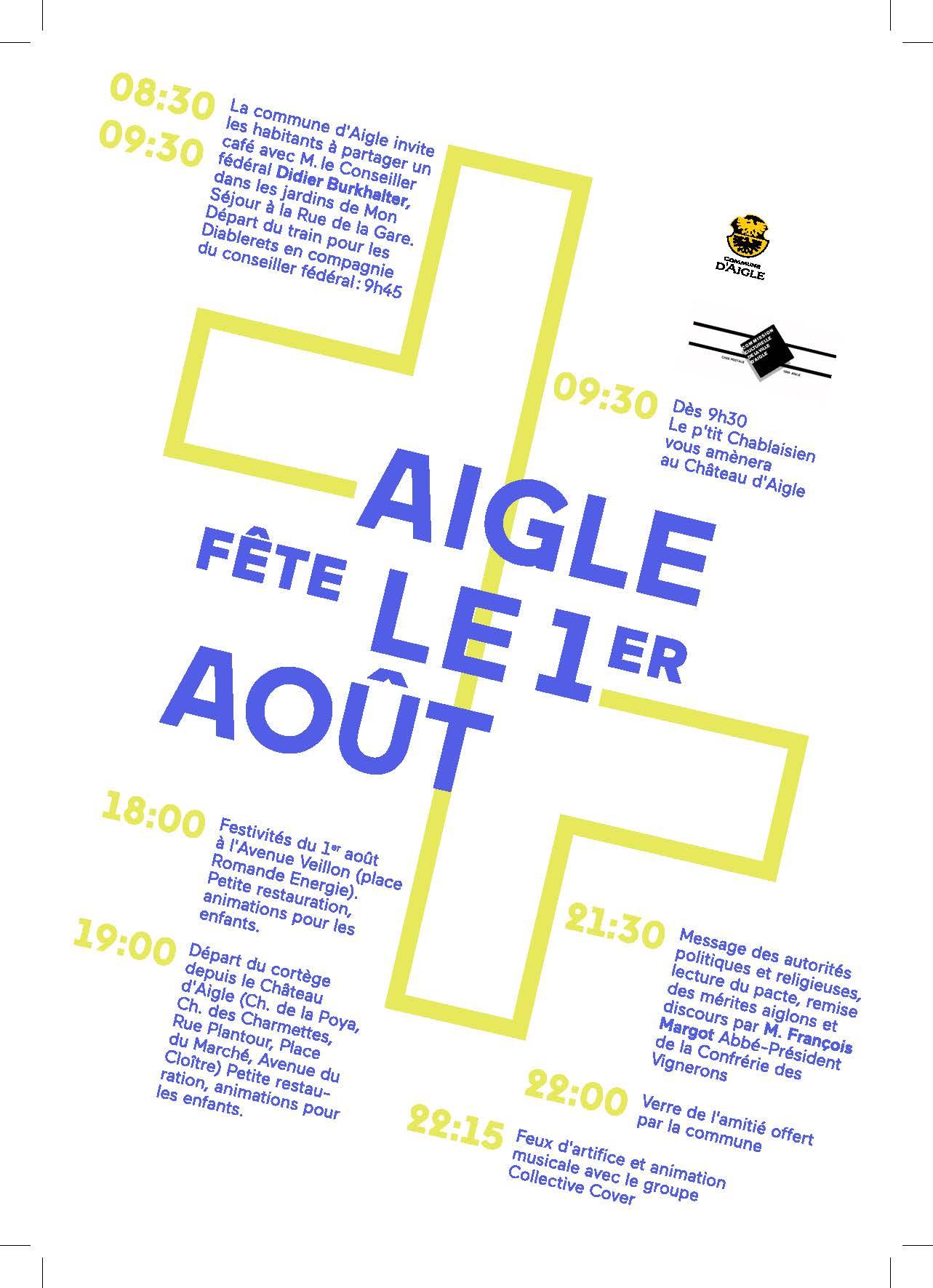The Collective Cover en concert pour la fête du 1er Aout à Aigle