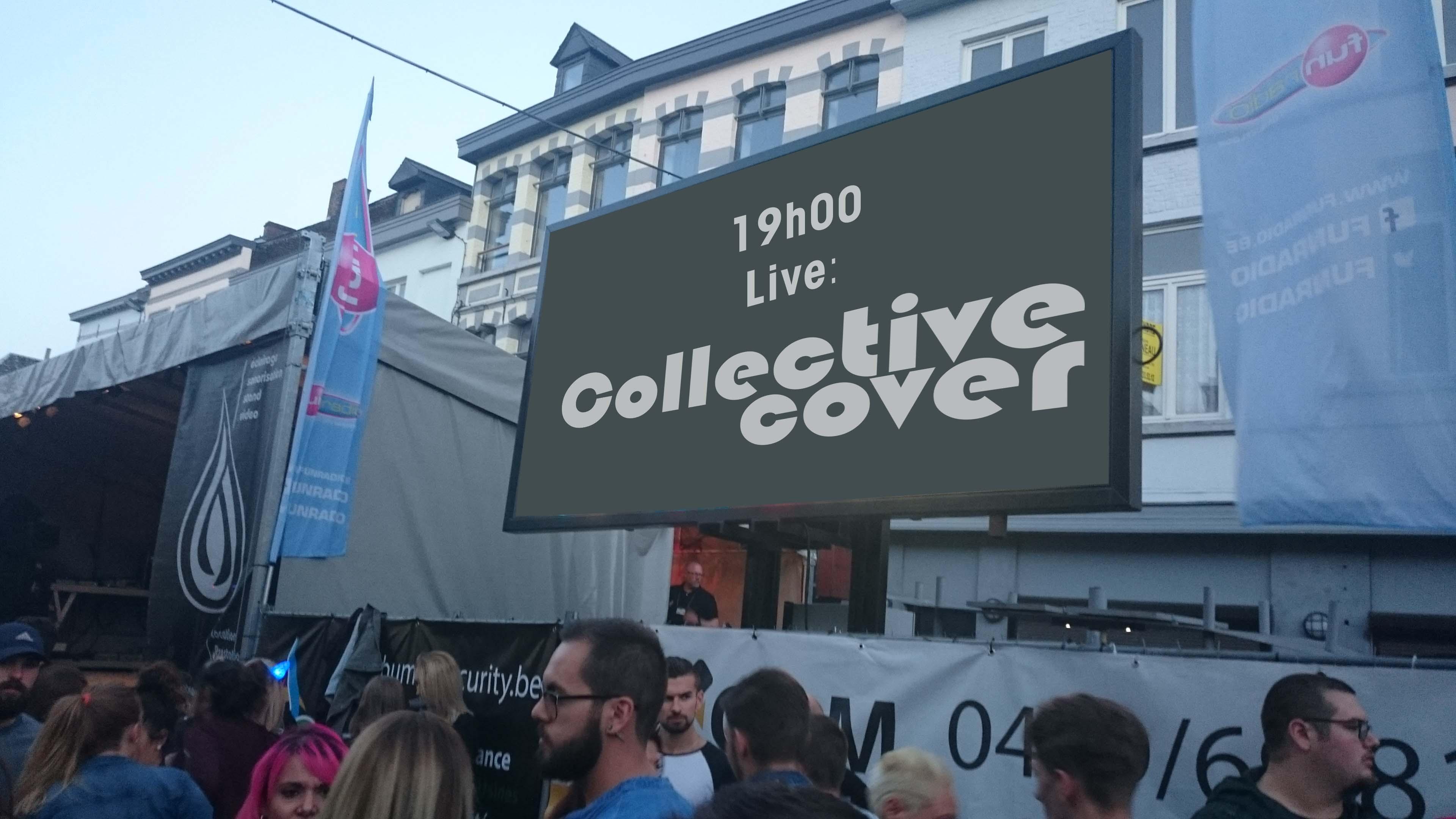 Le Collective Cover duo,  Live à Aigle plage