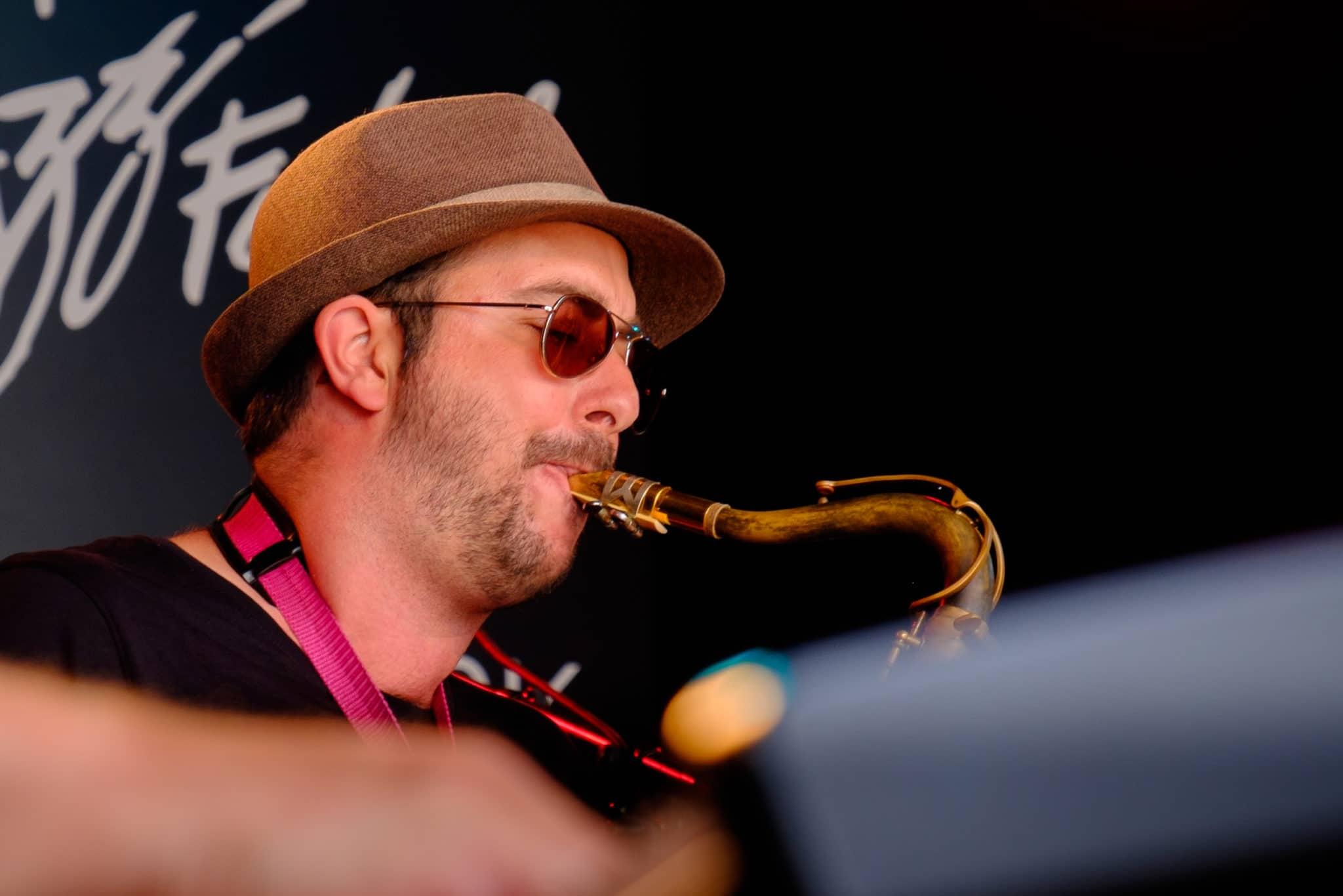Xavier Nussbaum Collective COver MOntreux Jazz